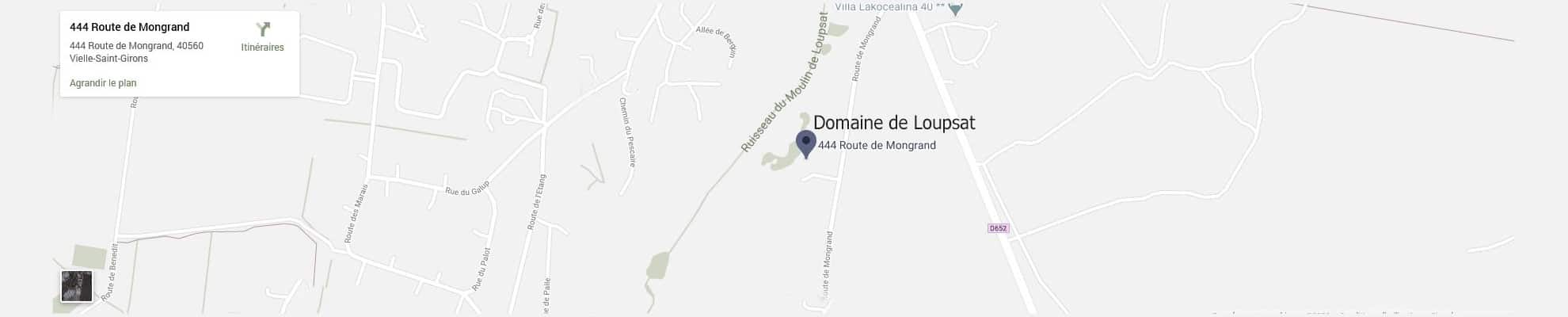 Domaine de Loupsat - Gite avec piscine dans les Landes